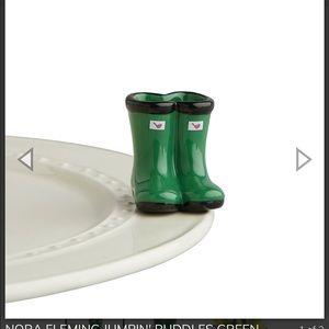 Nora Fleming rain boots ! Brand new!